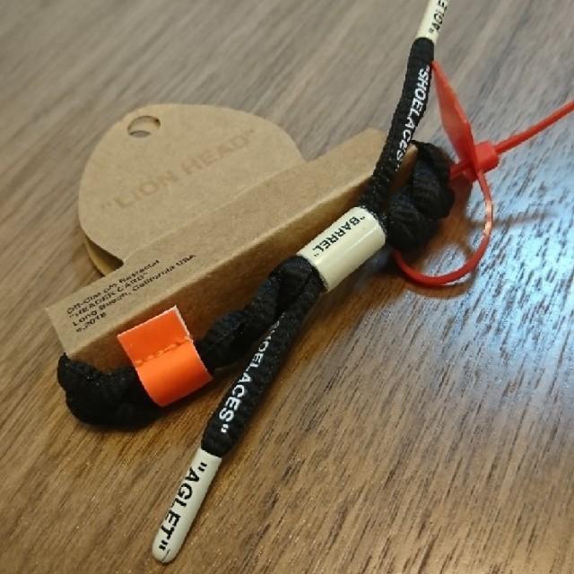 OFF-WHITE(オフホワイト)の【新品・送料無料】Rastaclat Off-Clat オフクラット ブラック メンズのアクセサリー(ブレスレット)の商品写真