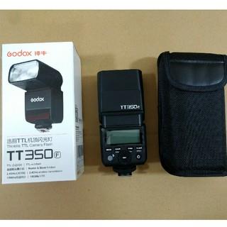 フジフイルム(富士フイルム)のGODOX TT350F フジフイルム用(ストロボ/照明)