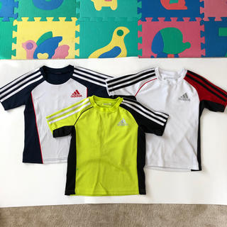 アディダス(adidas)のアディダス Tシャツ 120cm 3枚セット 男の子(Tシャツ/カットソー)