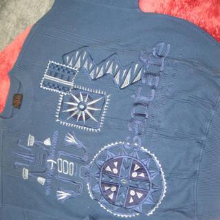 サンタフェ(Santafe)のサンタフェ 豪華立体刺繍セーター 03(ニット/セーター)