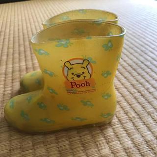ディズニー(Disney)のプーさん レインブーツ 15㎝(長靴/レインシューズ)