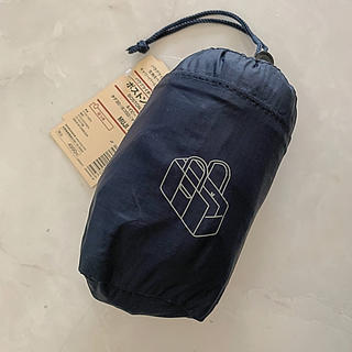 ムジルシリョウヒン(MUJI (無印良品))の無印良品 たためる ボストンバッグ パラグライダークロス 新品 ネイビー(ボストンバッグ)