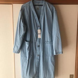 ジーユー(GU)のGU デニムショップコート XL(ロングコート)