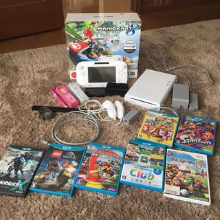 ウィーユー(Wii U)のWiiU 本体 ソフト まとめて(家庭用ゲーム本体)