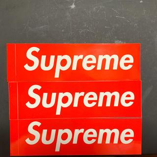 シュプリーム(Supreme)のsupreme(しおり/ステッカー)