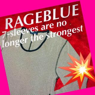 レイジブルー(RAGEBLUE)の❇️【RAGEBULE】魅惑の七分☆‼️美品‼️(Tシャツ(長袖/七分))