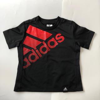 アディダス(adidas)のアディダス Tシャツ 100cm 黒(Tシャツ/カットソー)