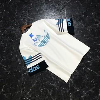 アディダス(adidas)のadidas アディダス  半袖Tシャツ  男女兼用です(Tシャツ(半袖/袖なし))