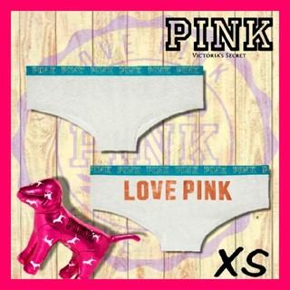 ヴィクトリアズシークレット(Victoria's Secret)のPINK LOGO CHEEKSTER(ショーツ)
