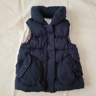ベベ(BeBe)の紺色ベスト・サイズ120(ジャケット/上着)
