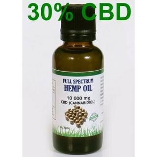 【10,000mg CBD30% 】純度99% ヘンプオイル【30ml】(その他)