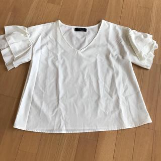 シマムラ(しまむら)の盛り袖シャツ(カットソー(半袖/袖なし))