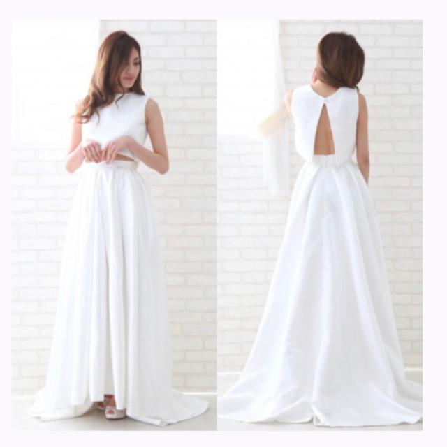 セパレートドレス 二次会ドレス ウェディング レディースのフォーマル/ドレス(ウェディングドレス)の商品写真