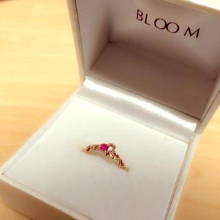 ブルーム(BLOOM)のBLOOMピンキーリング(リング(指輪))