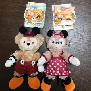 ディズニー(Disney)のダッフィー.シェリーメイ ぬいぐるみバッジ2015ハロウィン(ぬいぐるみ)