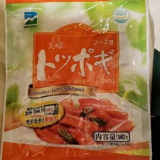 アーロン様専用 トッポギ6袋(インスタント食品)
