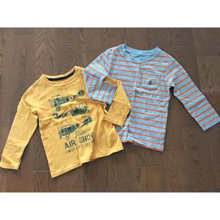 ベビーギャップ(babyGAP)のbaby Gap 長袖Tシャツ 100  2枚セット 中古(Tシャツ/カットソー)