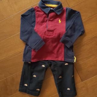 ラルフローレン(Ralph Lauren)のRALPH LAUREN 長袖ポロシャツとパンツのセット(Tシャツ/カットソー)