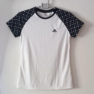 アディダス(adidas)の美品 adidas 半袖 スポーツシャツ レディース M(ウェア)