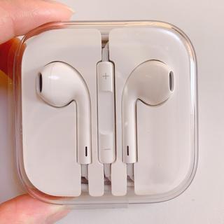 アイフォーン(iPhone)のiphone イヤホン 純正 正規品(ヘッドフォン/イヤフォン)