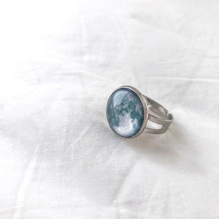 ロキエ(Lochie)の❁ Vintage rétro Antique Moon ring(リング(指輪))