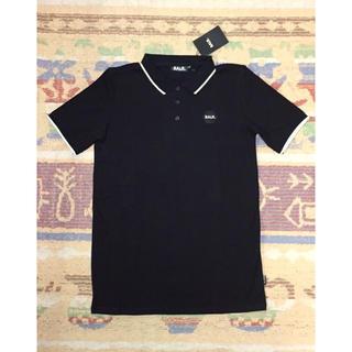 アディダス(adidas)のBALR.◆ボーラー ポロシャツ 黒L◆ダニアウヴェス ネイマール(ポロシャツ)