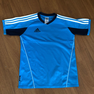 アディダス(adidas)のadidas アディダス Tシャツ 160 美品(Tシャツ/カットソー)