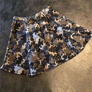 ZARA - ZARA ザラ ふんわりかもフラ柄スカート