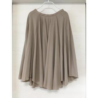 スタイルデリ(STYLE DELI)の新品 スタイルデリ style deli ギャザースカート ベージュ (ひざ丈スカート)