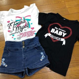 シマムラ(しまむら)のしまむら130セット(Tシャツ/カットソー)