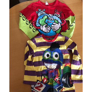 パーティーパーティー(PARTYPARTY)の【専用】BREEZE partyparty ロンT2枚セット サイズ100(Tシャツ/カットソー)