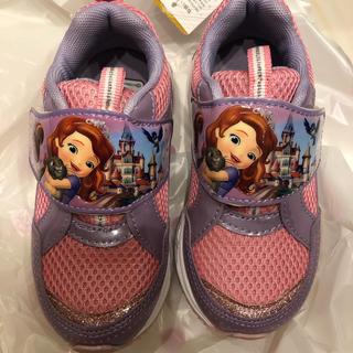 ディズニー(Disney)の新品 未使用 ソフィア スニーカー 17センチ 上履き 靴(スニーカー)