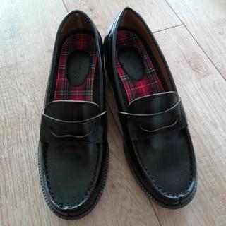 アスビー(ASBee)のASBee ローファー22.5センチ(ローファー/革靴)