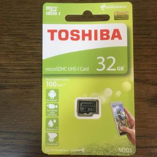 トウシバ(東芝)のmicrosd カード 32GB(その他)