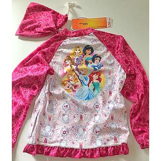 ディズニー(Disney)の新品 プリンセス ラッシュガード 120(水着)