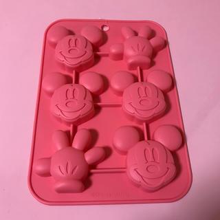ディズニー(Disney)の新品☆ミッキー*シリコンプチケーキ型(調理道具/製菓道具)