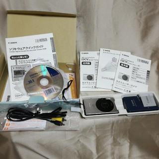 キヤノン(Canon)のキャノンデジタルカメラIXY(コンパクトデジタルカメラ)