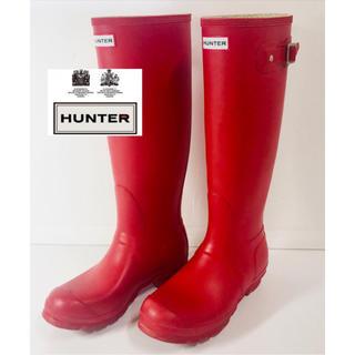 ハンター(HUNTER)の☆HUNTER ハンター レインブーツ/長靴 24cm☆(レインブーツ/長靴)