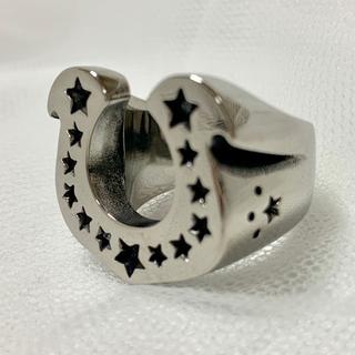 ホースシューリング  サージカルステンレス 大人気❗️指輪 (リング(指輪))