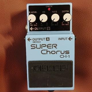 ボス(BOSS)のBOSS  SUPER CHORUS  CH-1(エフェクター)
