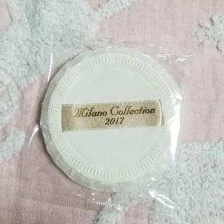 カネボウ(Kanebo)のカネボウ ミラノコレクション 2017 フェイスパウダー用 薄型パフ(その他)