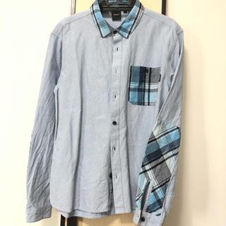アディクト(ADDICT)のADDICTブルーシャツ(シャツ)
