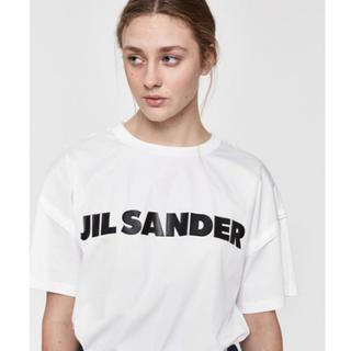 ジルサンダー(Jil Sander)の今季新品◇JIL SANDER ジルサンダー ロゴ ティーシャツ(Tシャツ(半袖/袖なし))