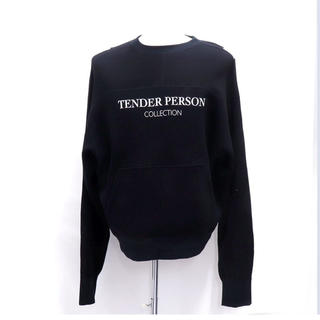 バレンシアガ(Balenciaga)のTENDER PERSON / HI-BIS BB SWEAT ブラック(スウェット)