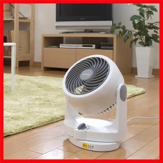 【在庫限りsale】サーキュレーター 静音 首振り 8畳 ホワイト(ファンヒーター)