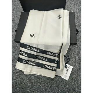 シャネル(CHANEL)の正規品CHANELシャネル シルク フェミニン 上品 スカーフ(バンダナ/スカーフ)