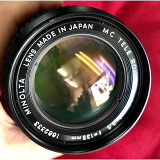 コニカミノルタ(KONICA MINOLTA)のMINOLTA MC TELE ROKKOR-QD 1:3:5 f=135mm(レンズ(ズーム))