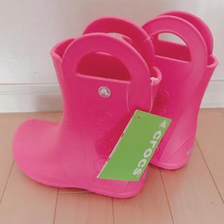 クロックス(crocs)のクロックス レインシューズ 18.5cm(長靴/レインシューズ)