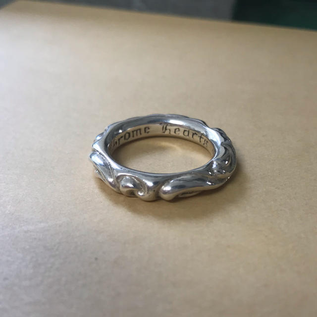 Chrome Hearts(クロムハーツ)のクロムハーツ スクロールリング 内径約19㎜ メンズのアクセサリー(リング(指輪))の商品写真
