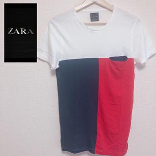 ザラ(ZARA)のZARA MAN 半袖 シャツ 春 夏(Tシャツ/カットソー(半袖/袖なし))